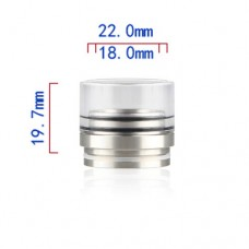 RDA Top Cap Glass & SS