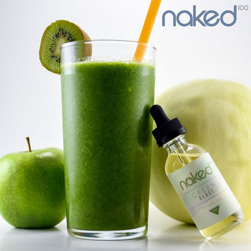 Naked 100 E-Liquid - Green Blast