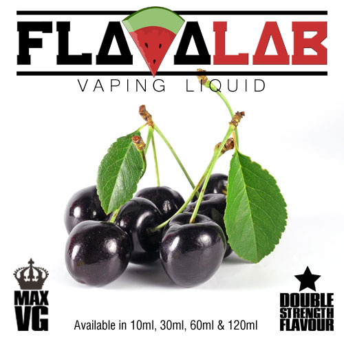 Flavalab E-Liquid - Black Cherry