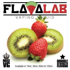 Flavalab E-Liquid - Strawberry & Kiwi