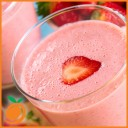 Real Flavors - Strawberry Milkshake